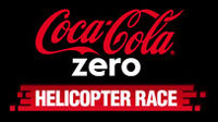 coke zero helicopter race