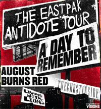 eastpak antidote tour 2011