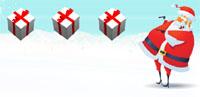 kerstman pakjes