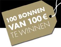 100 bonnen 100 euro