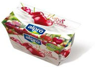 alpro soja fruity & creamy