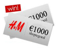 H&M 1000 euro waardebon