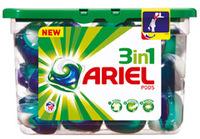 Ariel 3 in 1 tabs terugbetaald