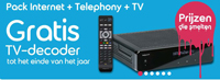 Gratis Belgacom-decoder tot eind dit jaar