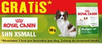 Gratis zak Royal Canin SHN XSMALL