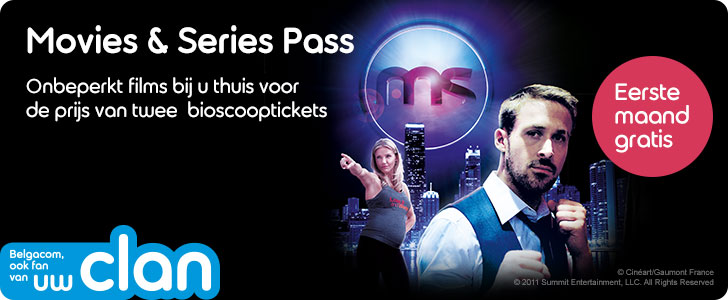 Movies & Series Pass Belgacom TV