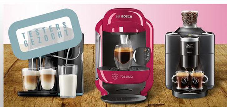 koffiemachinestesten