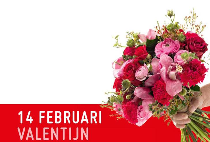 valentijnbloemen