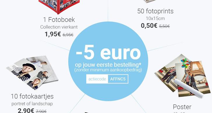 5 Euro Korting Bij Smartphoto Gratis Be
