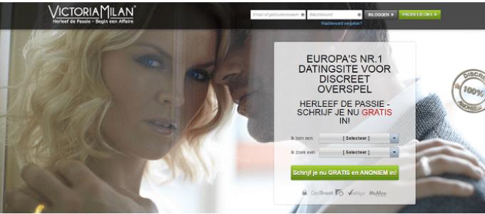 Victoria Milan datingsite is volledig gratis voor vrouwen