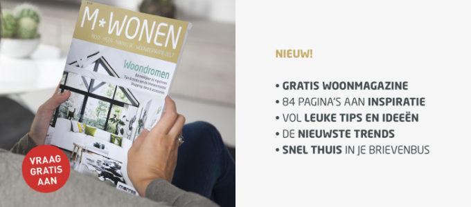 M*Wonen: gratis magazine over stijlvol wonen – editie 2017