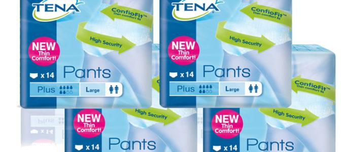 Gratis proefverpakking TENA Pants Plus