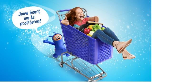 Carrefour gratis winkelkar