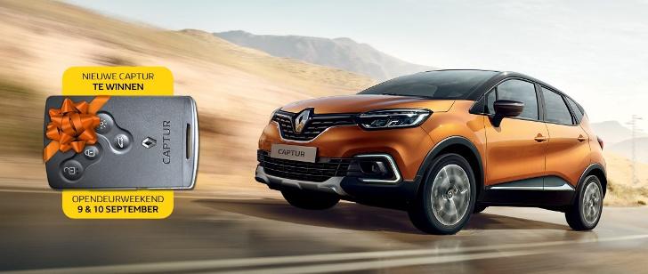 Win de nieuwe Renault CAPTUR