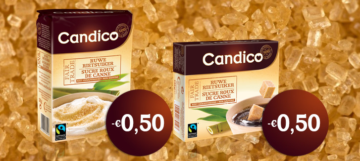 Candico Rietsuiker Fairtrade Bonnen Promolife