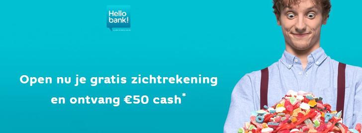 hello bank gratis zichtrekening
