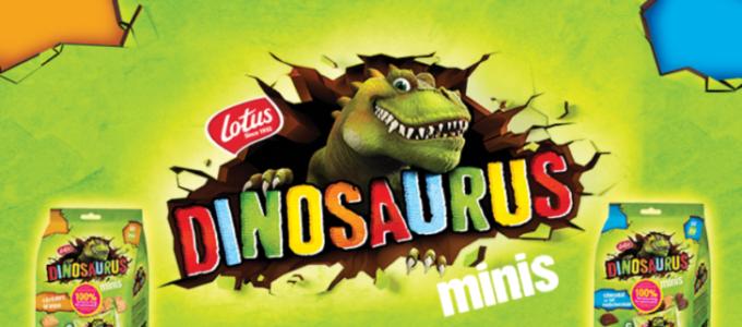 Lotus Dinosaurus Minis 100% terugbetaald