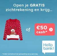 50 euro cadeau Hello Bank