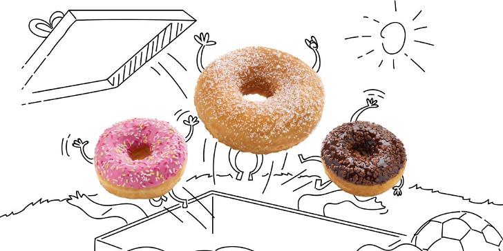 Gratis Donut Panos