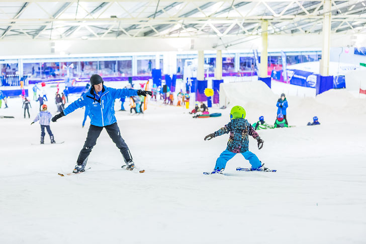 skidome tweede ticket gratis world snow day