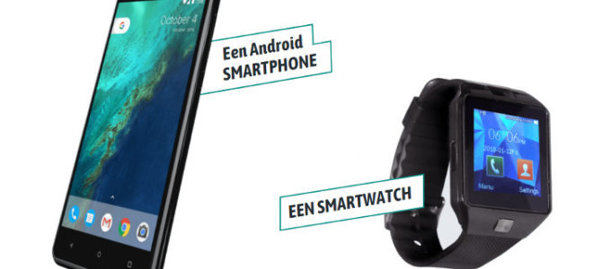 Android Smartphone of Smartwatch voor maar € 2