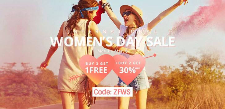 zaful vrouwendag koopjes