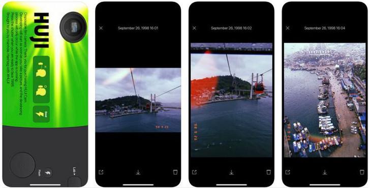 Huji Cam App gratis