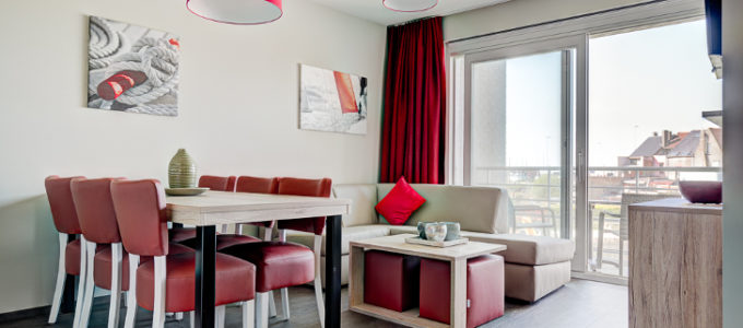 Gratis brochure flats in Zeebrugge