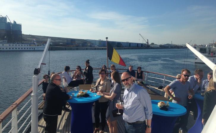 Gratis bootvaart haven Gent