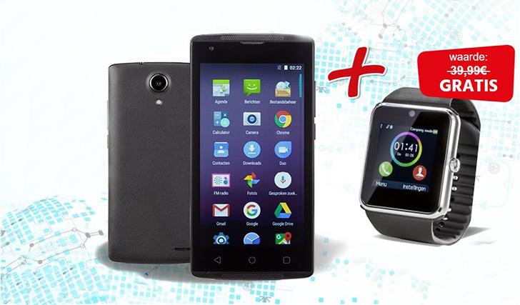 gratis smartwatch unigro