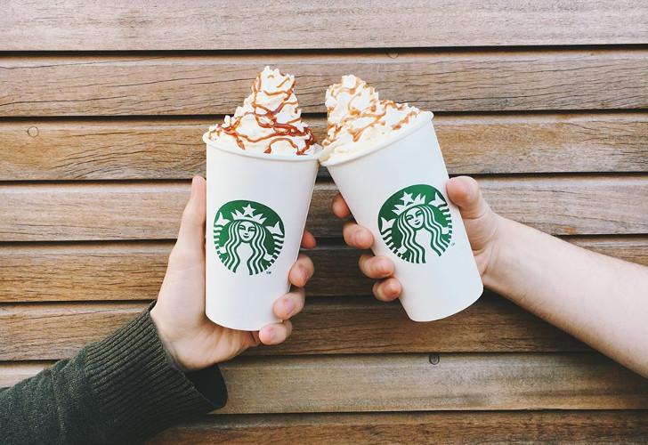 starbucks gratis koffie