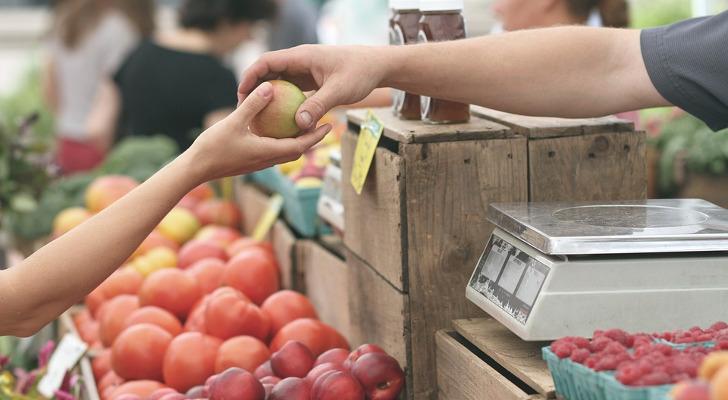 gratis kilo appels markt aalst