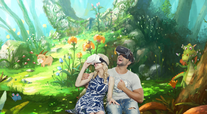 gratis virtual reality game