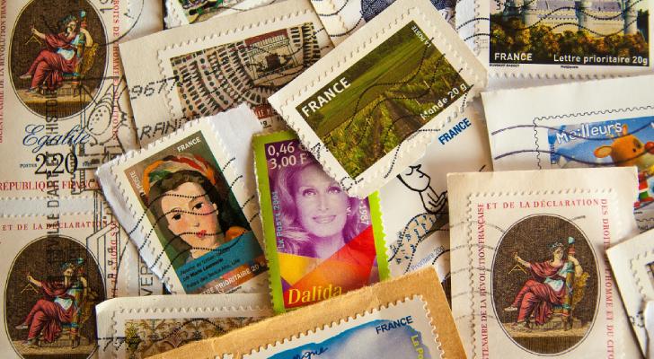 postzegel toren van babel