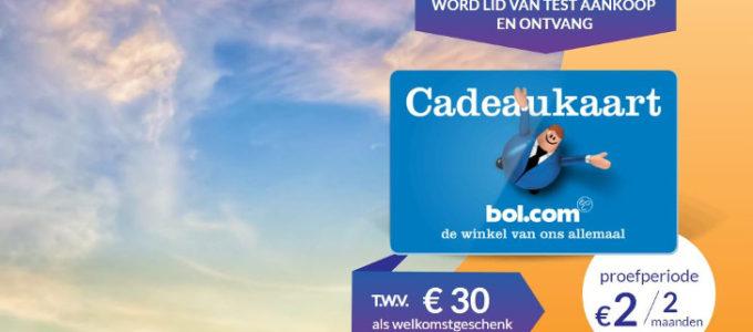 Bol.com cadeaukaart van € 30 of smartwatch voor maar € 2