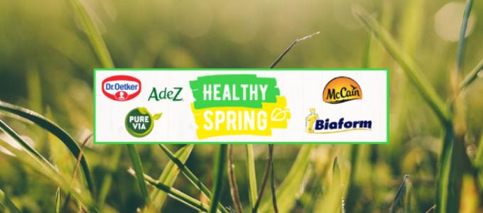 Gratis kortingsbonnen op Healthy Spring merken