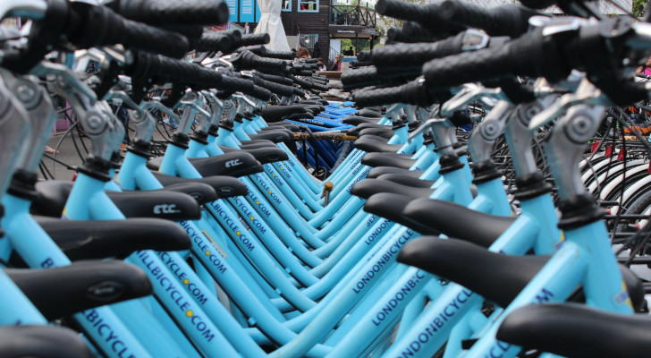 gratis blue bike