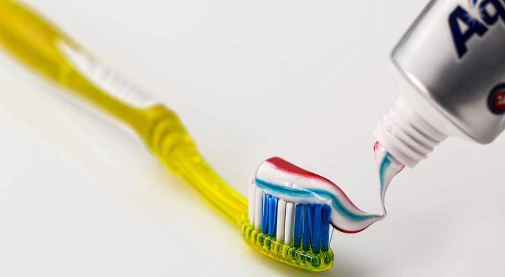 gratis tandpasta aquafresh