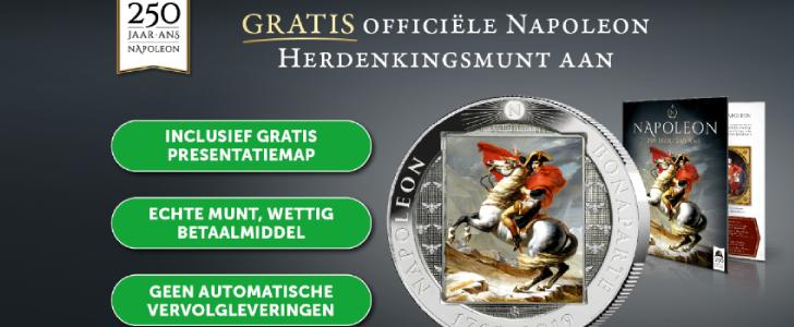 herdenkingsuitgifte napoleon