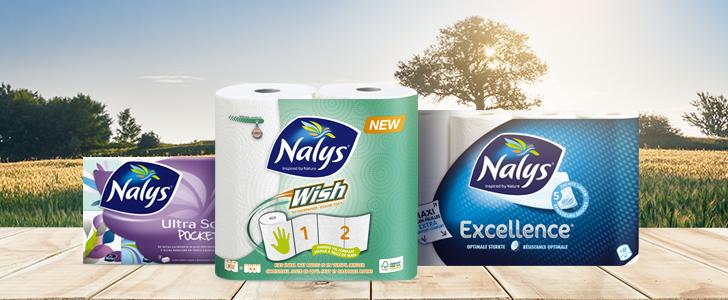 gratis Guzzini Push & Block keukenrolhouder bij aankoop Nalys producten