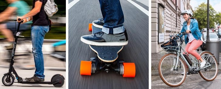 step fiets skateboard
