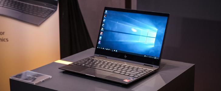 HP laptop bij HLN