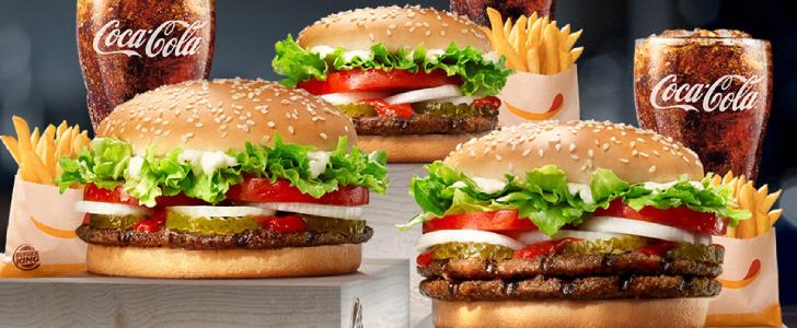 Burgerking hasselt gratis eten