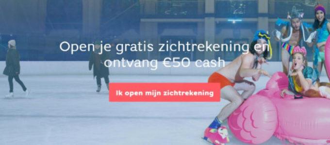 Gratis zichtrekening bij Hello bank! en € 50