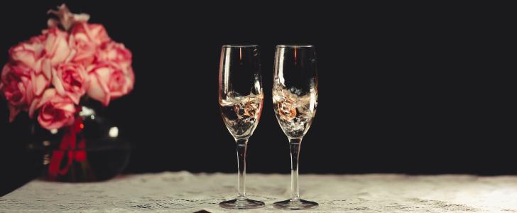 champagne glazen bij Kruidvat