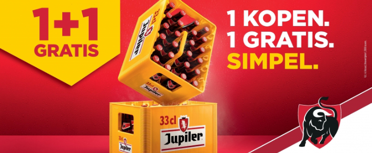 Jupiler 1+1