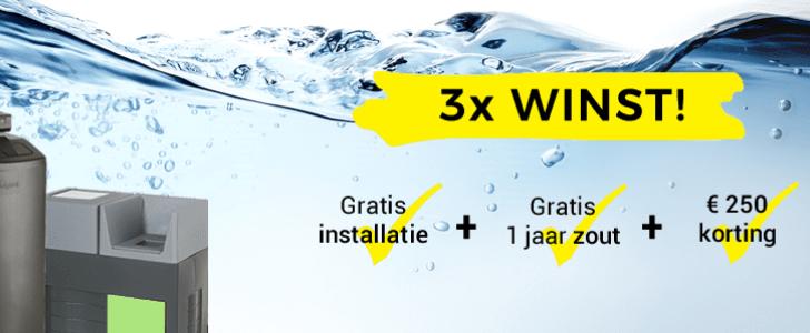 gratis zout waterverzachter