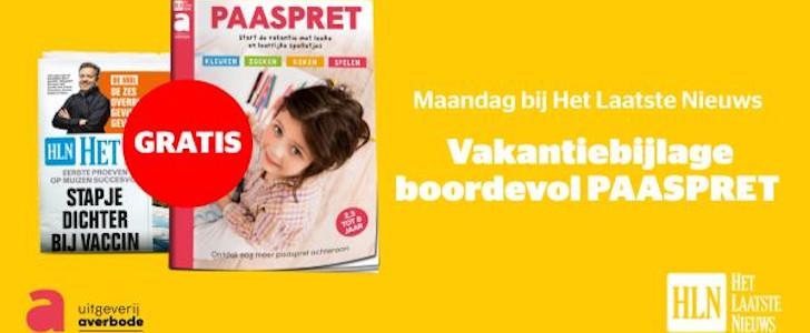 Paaspret HLN
