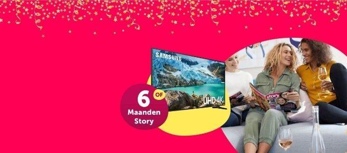 Win 6 maanden Story of een Samsung tv